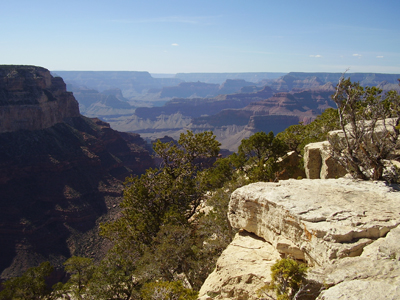 Grand Canyon, from Yavapai Point towards West